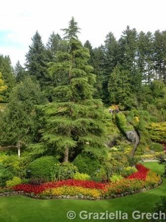 Butchart Garden Sunken Garden