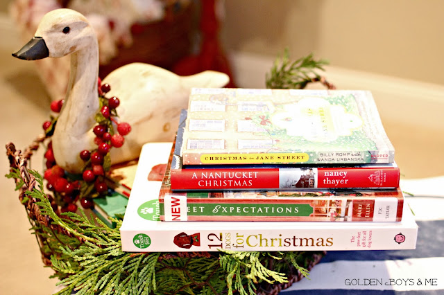 Christmas books Christmas on Jane Street-www.goldenboysandme.com