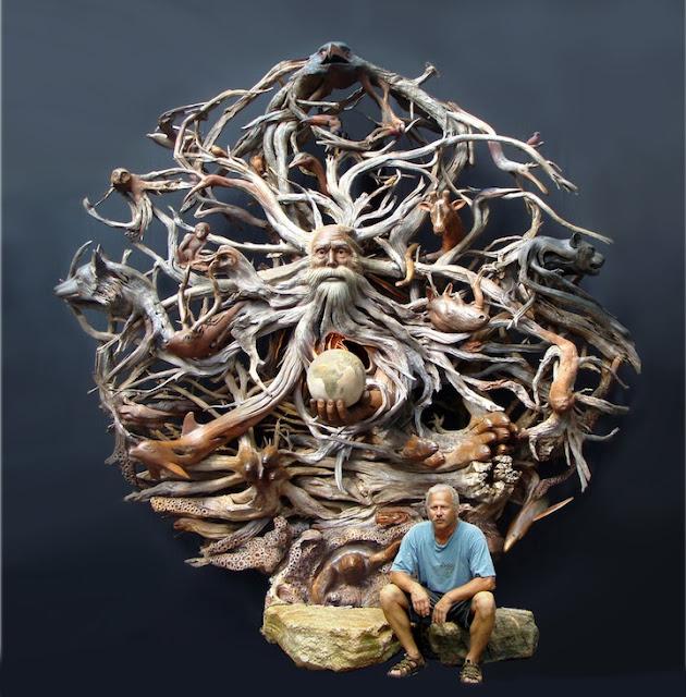 Esculturas de Madeira - Paul Baliker