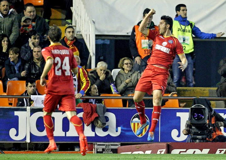 La victoria del Getafe en Valencia no la acertó nadie