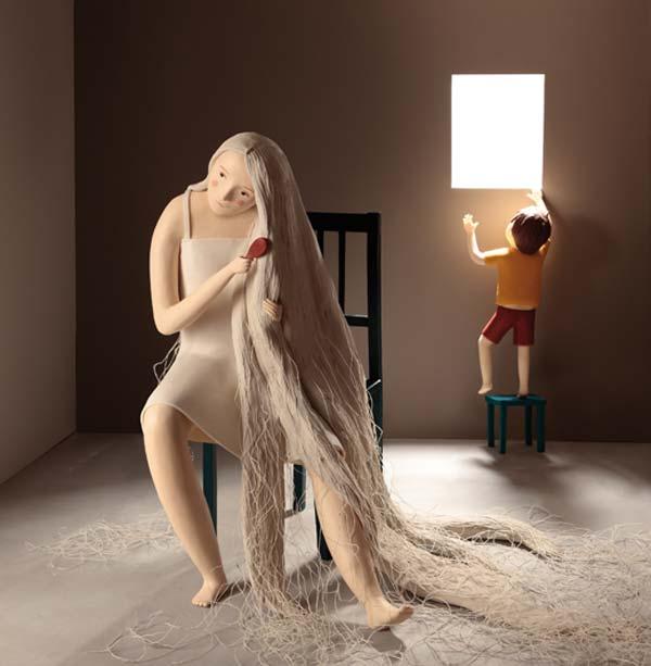 arte plastilina esculturas ilustraciones