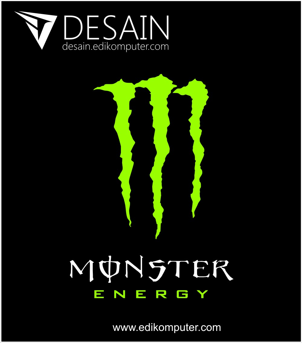Download Logo Monster energy cdr