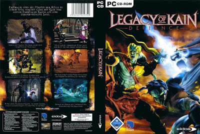 Legacy Of Kain Defiance PC DVD Capa