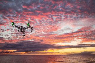 Wereldwijd belangstelling voor drone-thesis van UHasselt-student