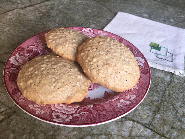 Vintage Oatmeal Cookie Recipe 1930s