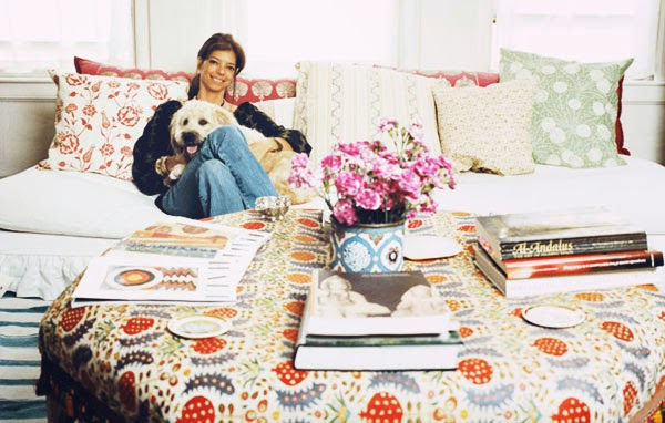 this is glamorous - Carolina Irving Joins Oscar de la Renta Home