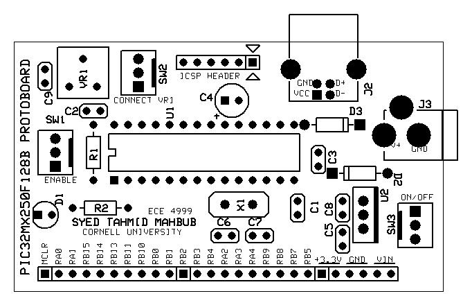 tahmid u0026 39 s blog  pic32 proto board  details  schematic  pcb