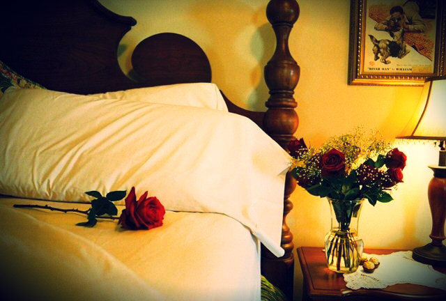 Claiborne House bed and breakfast is a romantic getaway