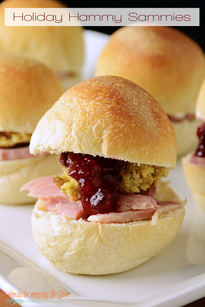 Holiday Hammy Sammies: the perfect way to use up Thanksgiving leftovers