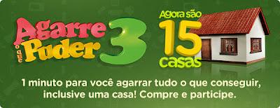 PROMOÇÃO AGARRE O QUE PUDER 3 2012- FIKDICA