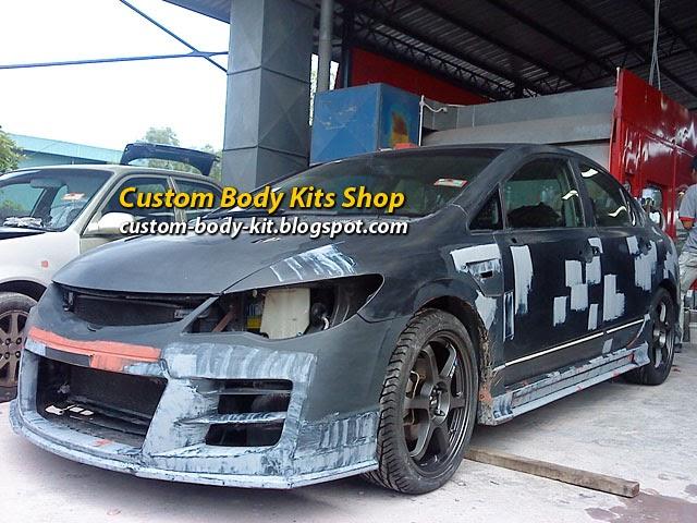 Honda civic fd2 custom body kit part 2 custom body kits for Where are honda civics made