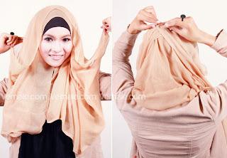 gambar jilbab paris