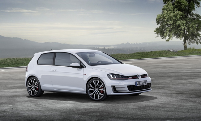 New Golf 7 GTI at the GENEVA MOTOR SHOW