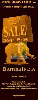 British India Sale 2013