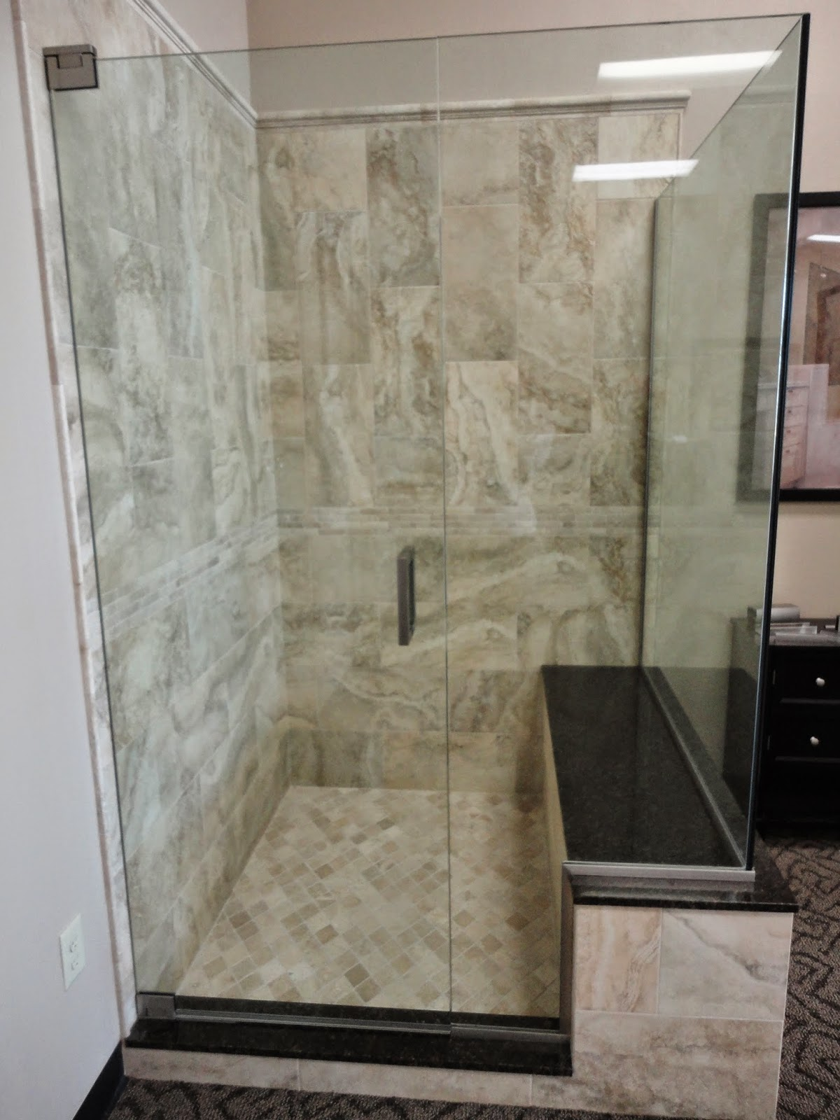 Tile Sarasota Here Are Four Shower Displays We Built For My Shower