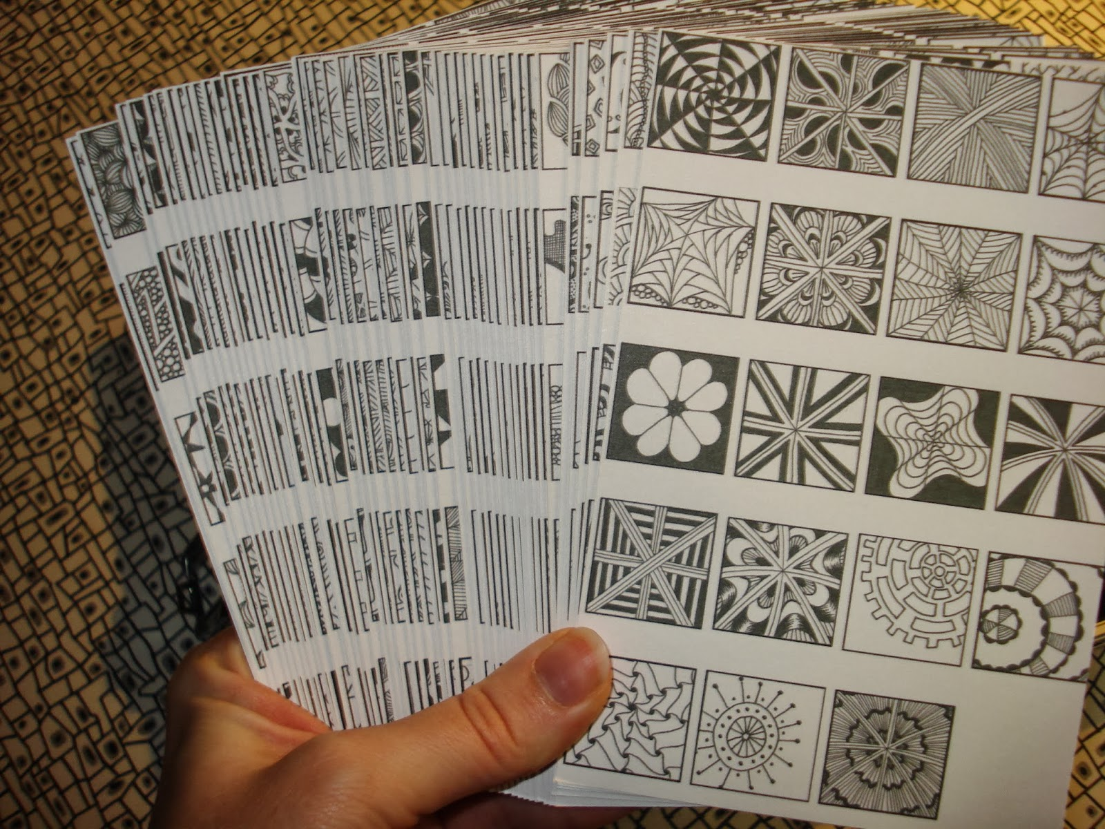 Zentangle Patterns Pdf Awesome Decorating Design
