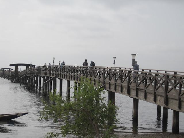 Puente que une Joal y Fadiouth, Senegal