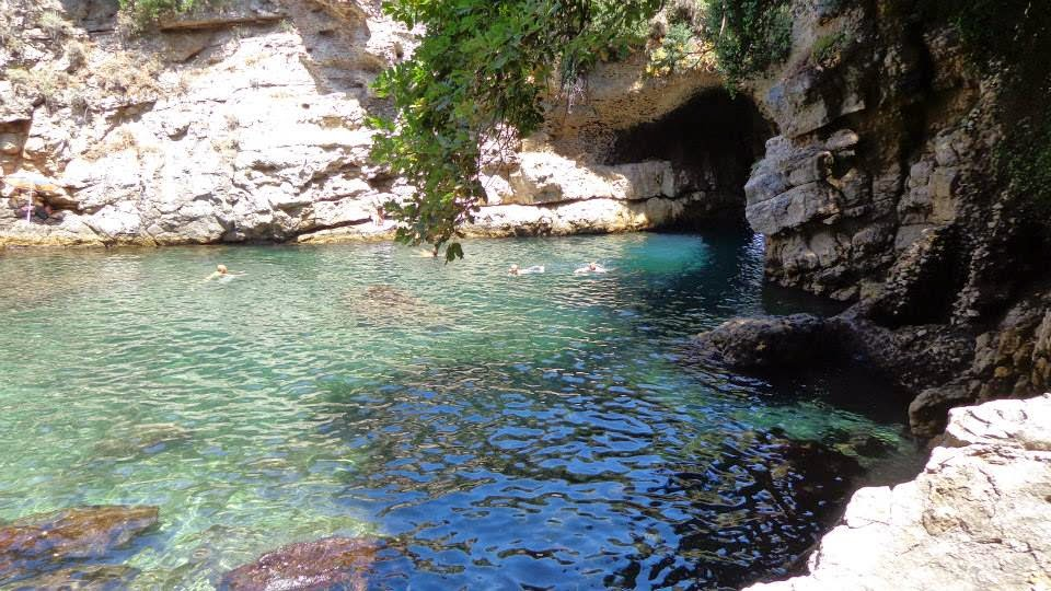The Thrifty Gypsy\'s Travels : Swimming in the Bagni della Regina ...