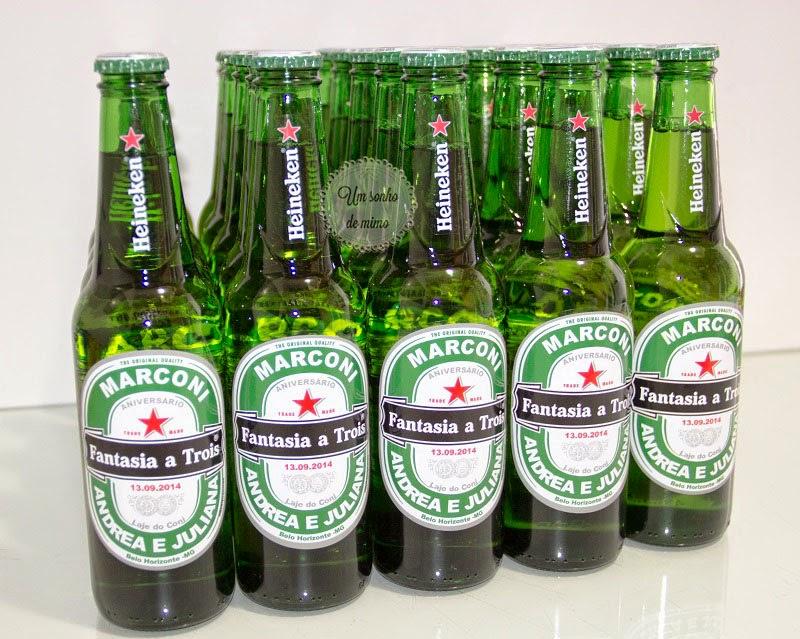 cerveja personalizada, heineken personalizada