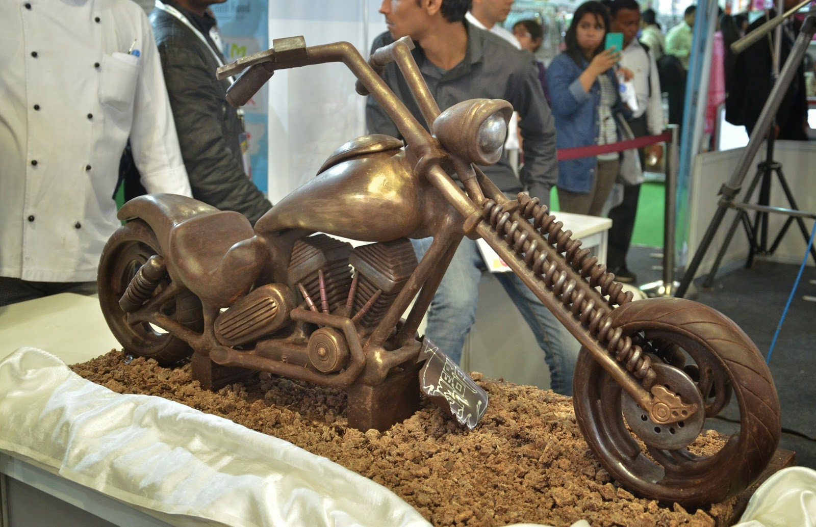 Culinary Art India 2015:Artistic Pastry showpiece