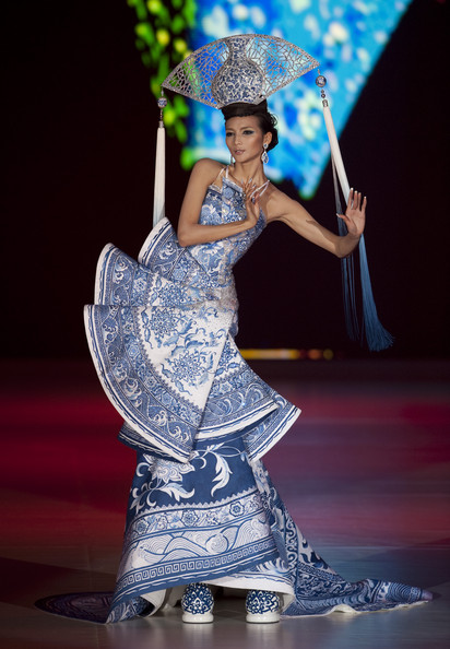 Guo Pei is showing at Singapore Digital Fashion Week