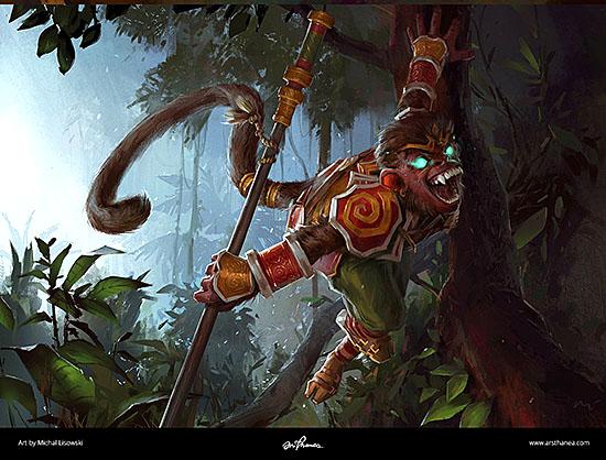 Michal Lisowski - http://www.artstation.com/artwork/wukong-06c09fa9-9c28-4323-93fe-080c934aee80