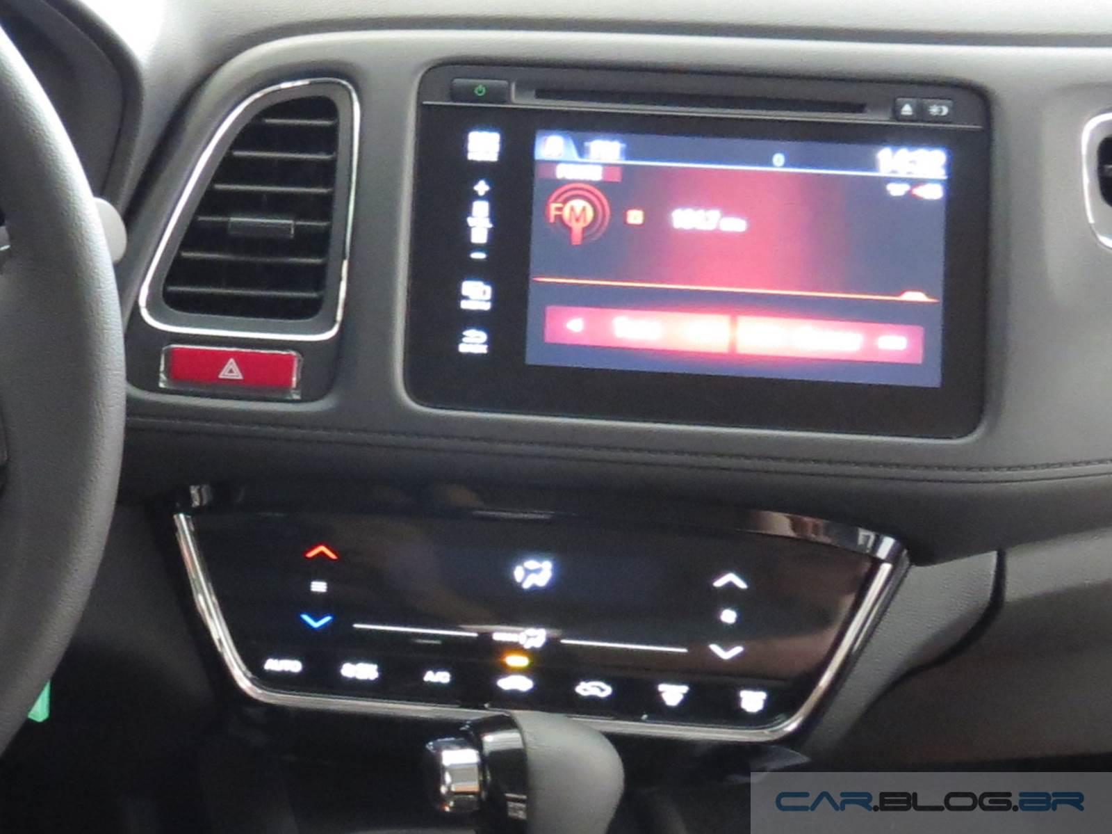 Honda HR-V EX-L - interior