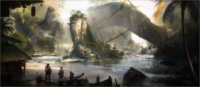 St. Lucia nel videogioco Raven's Cry