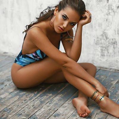 beautiful color bikini