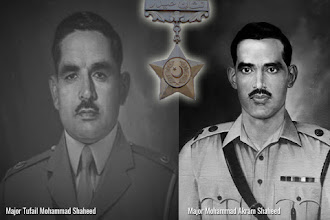 Two Nishan-e-Haider Pride of my Family.