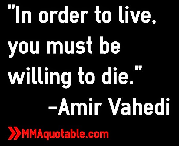You Must Be Willing to Die to Live in Order