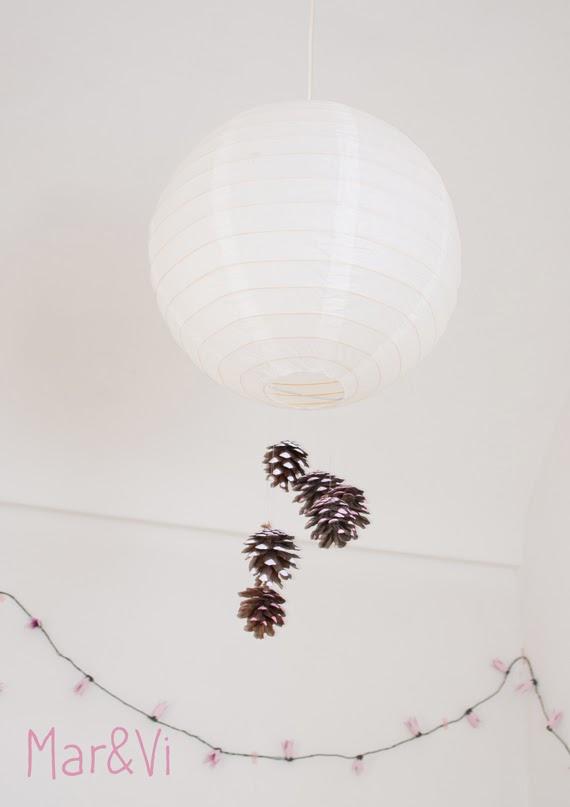 personalizar lampara de papel ikea