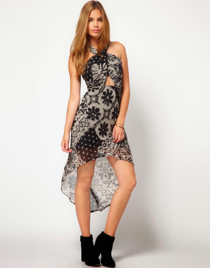 vestidos asimtricos moda