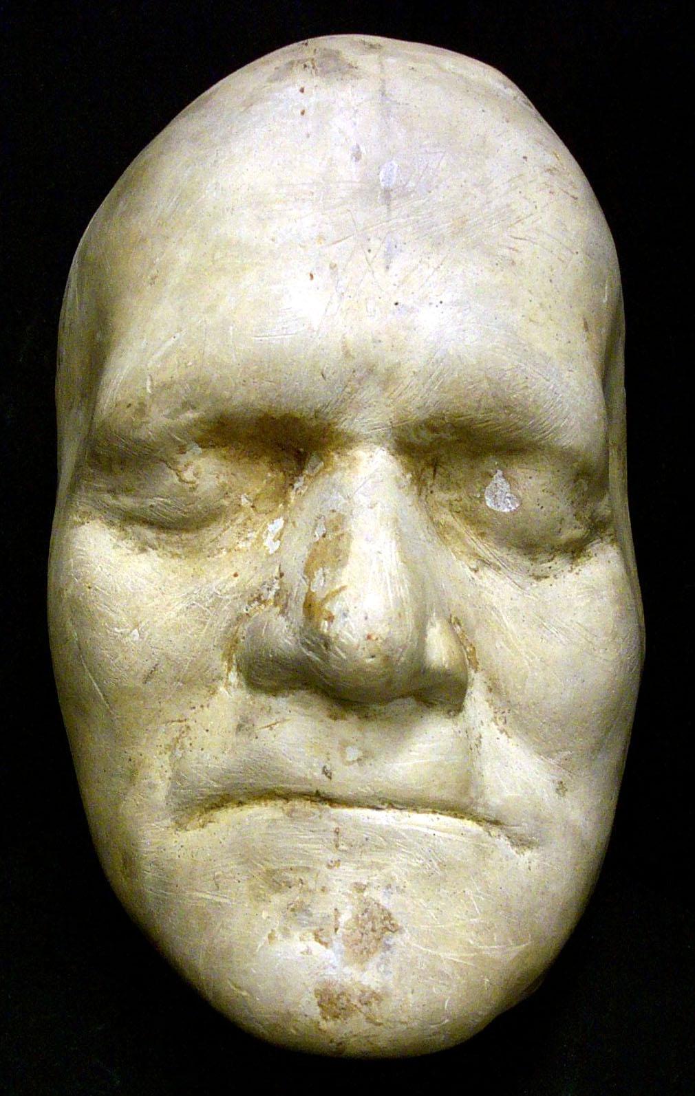 Benjamin franklin death mask
