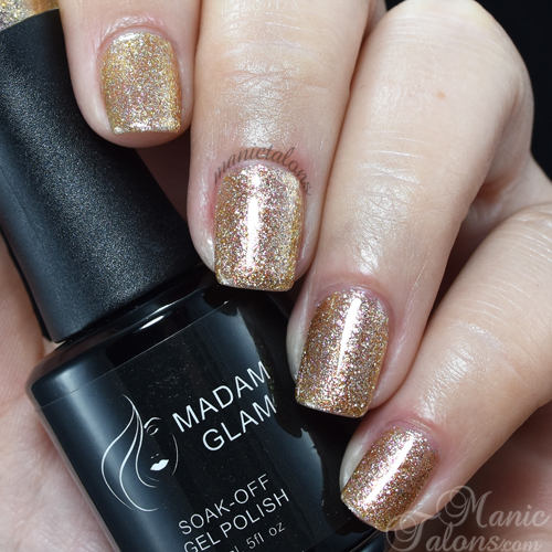Madam Glam Gel Polish My Jewels Swatch