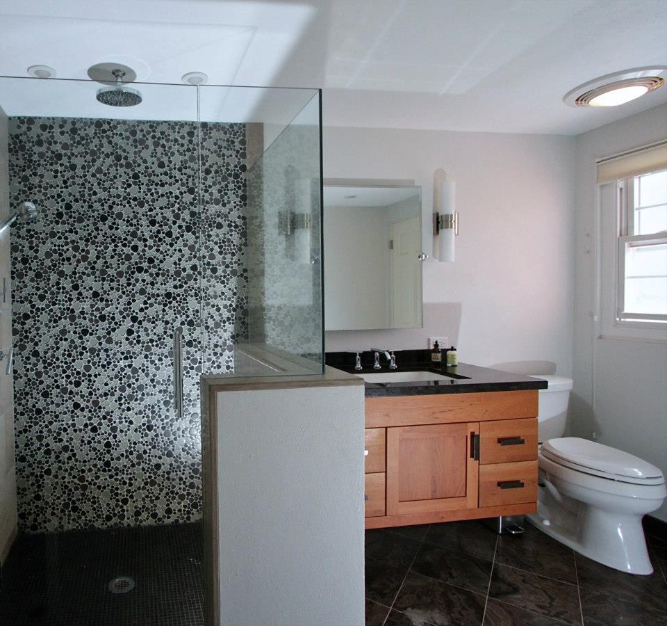 Monarch Kitchen Bath Centre Frameless Shower Doors Provide Sleek Clean Lines In These Modern