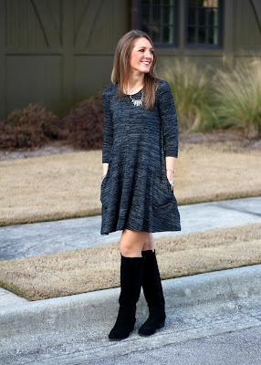 Stitch Fix January 2016 - Black Marelena Dress