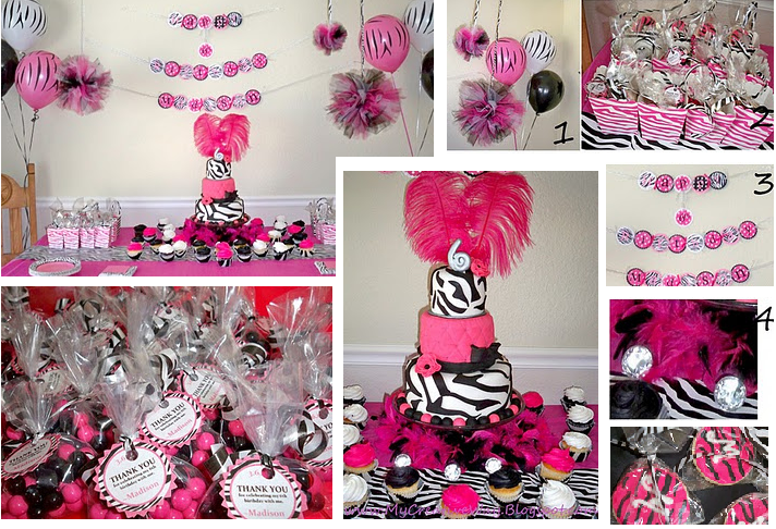 ... so excited to show you Madison's 6th Birthday Party. I hope you like