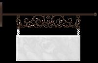 Plaquinha cute mármore - Criação Blog PNG-Free