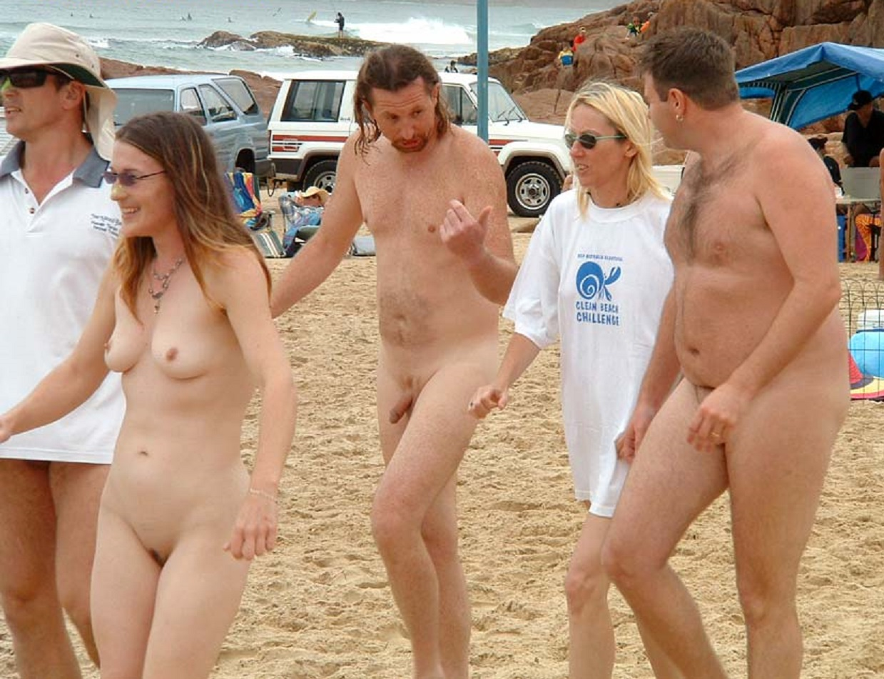 Maslin beach nudist contest