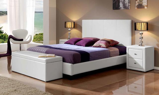 Muebles de dormitorio 5 dormitorios modernos en color blanco - Muebles dormitorio blanco ...