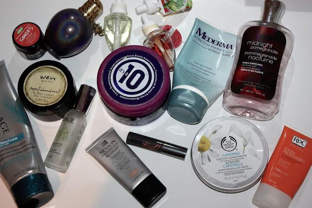 to the last drop, body shop, caudalie, revlon, bath and body works, shampoo, conditioner, wen, benefit