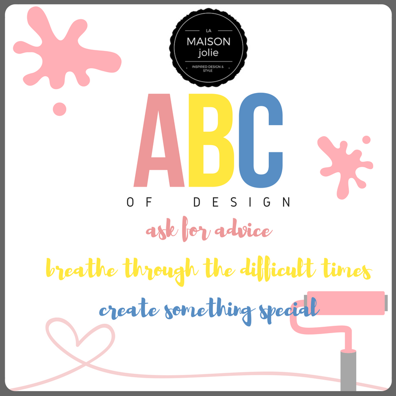 The ABC of DESIGN - La Maison Jolie