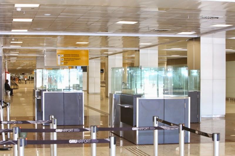 Passageiros que desembarcam em GRU com conexão doméstica com a GOL poderão redespachar suas bagagens no próprio Terminal 3 e seguir para o embarque no Terminal 2