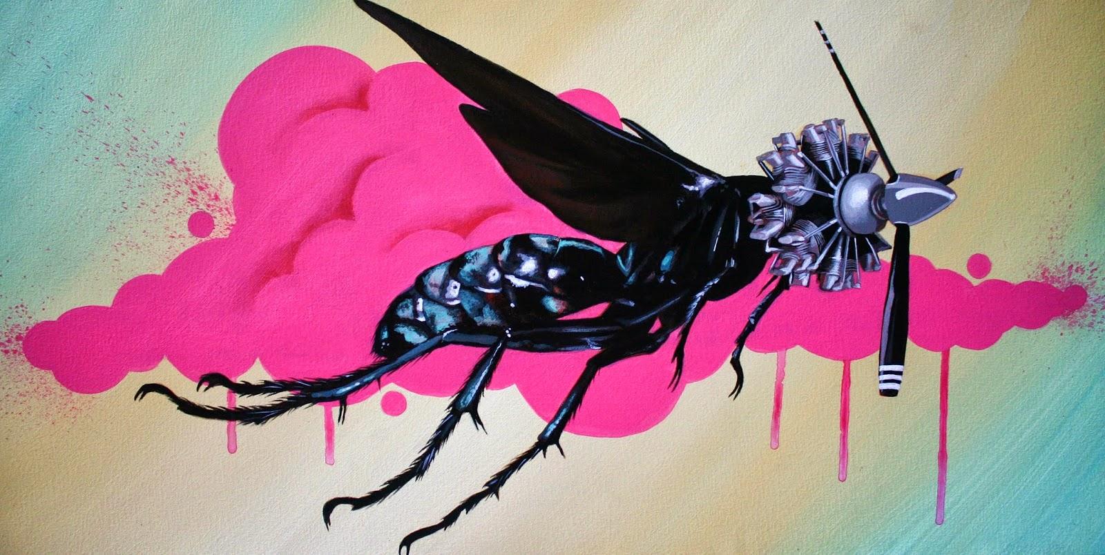 IMG:http://4.bp.blogspot.com/-ArWP11LqNUk/UlOnyqsg0UI/AAAAAAAA9Fc/d1X_Tvd01EU/s1600/Robert-Bowen-New-Biology-Pompilidae-Print.JPG