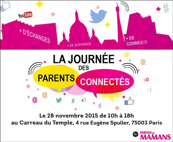 Spot des e-fluent mums éditions 4 : La journée des parents connectés
