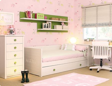 Muebles juveniles dormitorios infantiles y habitaciones - Camas cajones debajo ...