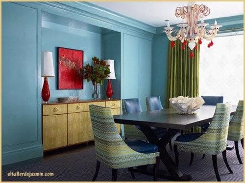 decorar con verdes y azules-eltallerdejazmin