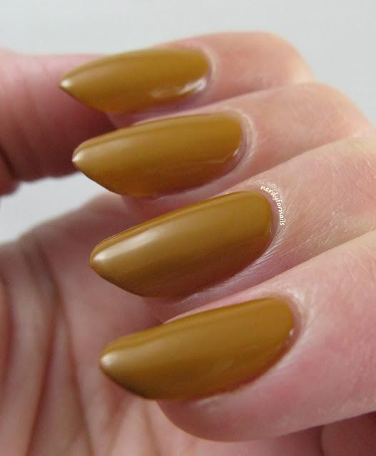 Nails Inc Hampstead Gardens Ugliest Yellow Polish Ever