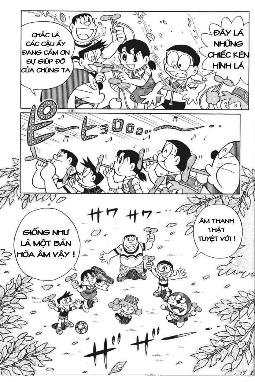 Truyện tranh Doraemon Dài Tập 25 - Nobita và truyền thuyết thần rừng trang 32